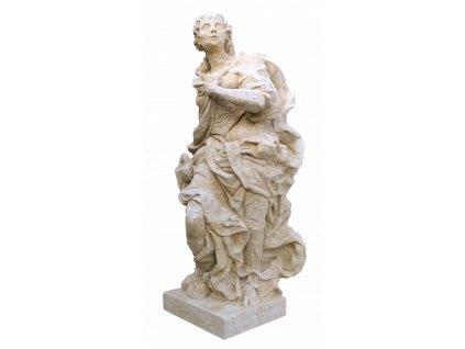 socha, zahradní sochy velké z pískovce, Braun-Upřímnost 1280 kg  T