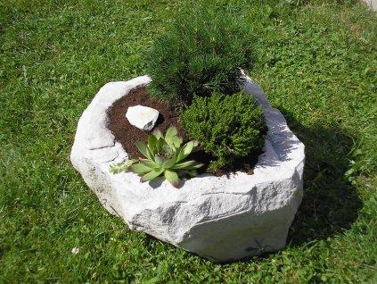 161 kamenne koryto z piskovce natur 40cm