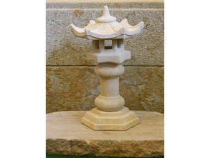 196 japonska zahradni lampa 36x22cm kamenna piskova