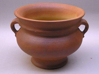 Keramické květináče - džbán I 450x350 (Odstín-glazura 2.cihlově tmavá-terakota-CT)