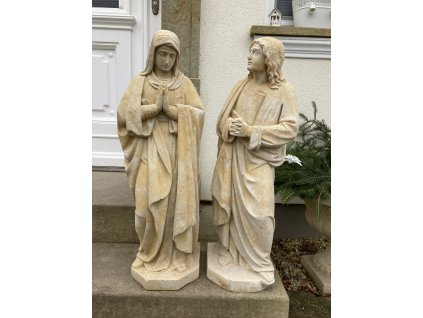 zahradni socha soska sv marie josef