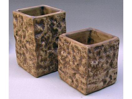 Keramické květináče - váza STONE 300x460