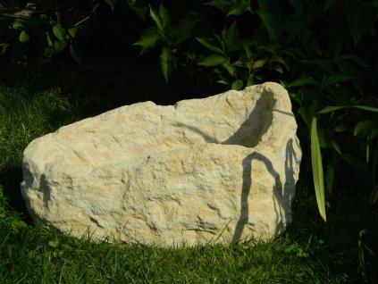 288 zahradnidekorace zahradni truhlik 52x31x22 kamenny
