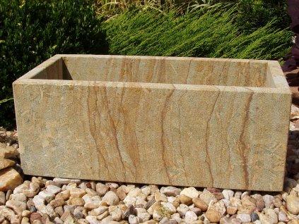kamenné koryto z pískovce 50x24x19 HLADKÉ