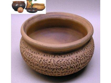 Keramické květináče - keramická váza V 480x345