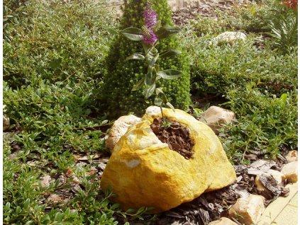 73 zahradni osazovaci kamen ndp0220 20x20x15cm z piskovce
