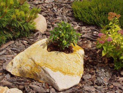 zahradní osazovací kámen NDP0325 25x25x16cm