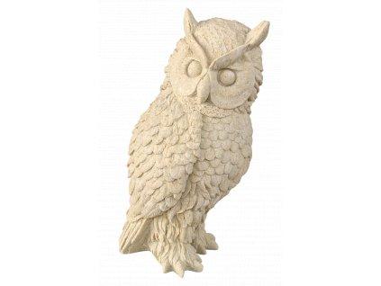 zahradní dekorace zvířat - zahradní sochy zvířat, Výr III.  2,5kg  J