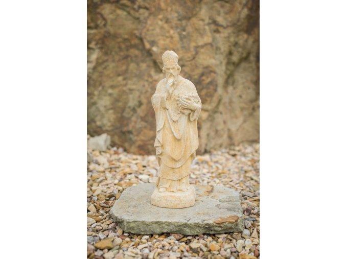 zahradní sochy a dekorace, Svatý Urban s hroznem 4,5 kg J