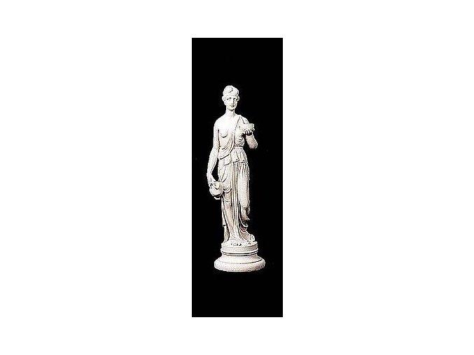 zahradní sochy a dekorace, Dívka s miskou 4,5kg  J