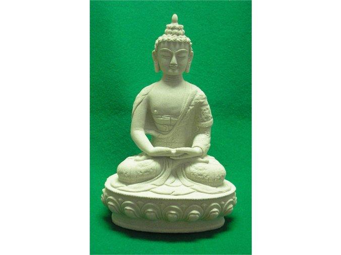 bytové dekorace-zahradní socha, soška asijský bůžek 2,5kg