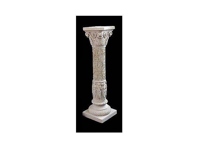 fasádní a stavební prvky, Sloupek s reliéfy 30 kg T