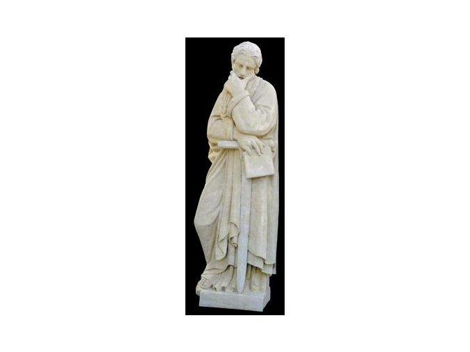 zahradní sochy velké, Svatý Pavel (s mečem) 108 kg  T