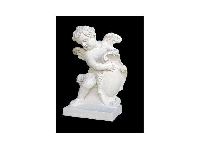 zahradní sochy velké, Anděl - baroko - levý,pravý  220kg  T