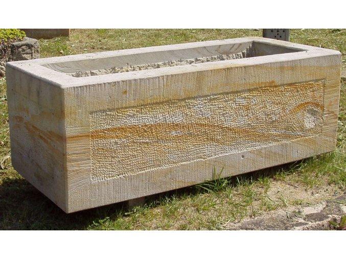 kamenné koryto z pískovce ELEGANCE 60cm
