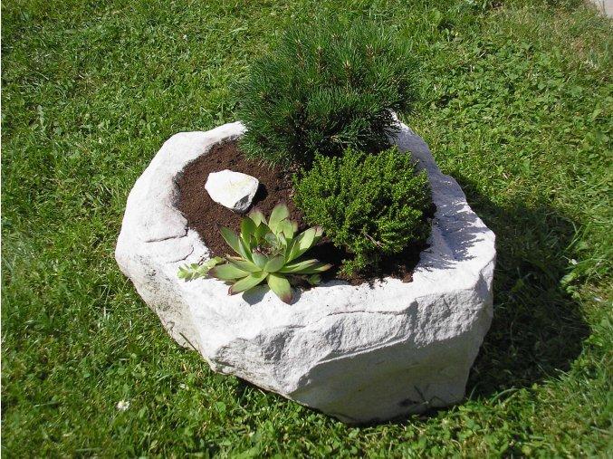 kamenné koryto z pískovce NATUR 40cm