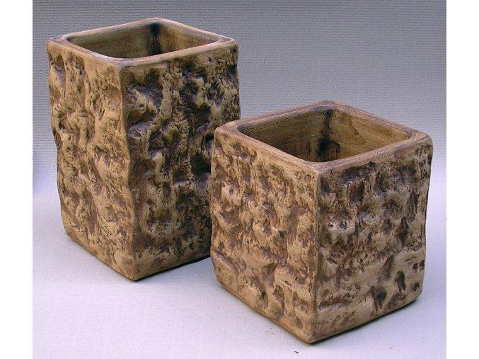Keramické květináče - váza STONE 300x560