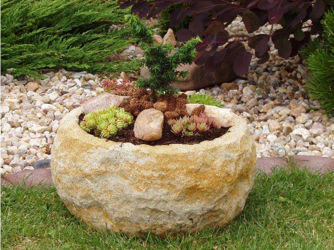 kamenné koryto z umělého pískovce TTCP2138