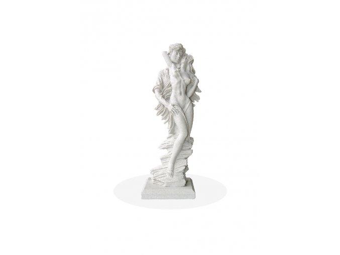 zahradní sochy a dekorace, Milenci stojící  2,2kg  J