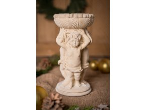 zahradní sochy a dekorace, Sloupek s amorky 4,6kg  J
