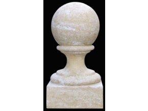 fasádní a stavební prvky, Podstavec s koulí  ? 20 cm  15 kg  T