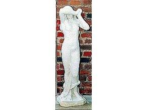 zahradní sochy velké, Smutná dívka 70kg  T