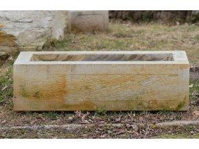 Kamenné koryto ELEGANCE50 50x25x20cm kamenný pískovec