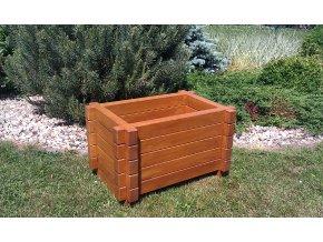 Zahradní květináč KLASIK 60x90 dřevěný dubový