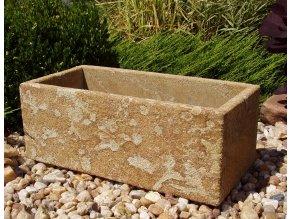 kamenné koryto z pískovce 50x24x19 JEMNÉ