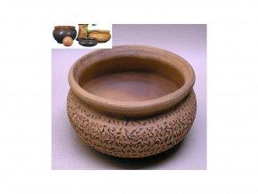 Keramické květináče - keramická váza V 400x145