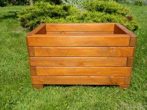 Dřevěné květináče, truhlíky -  smrkový ELEGANCE 40x60cm