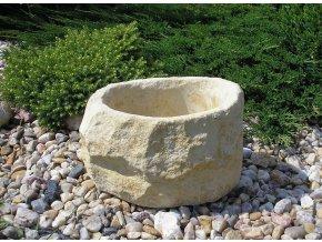 zahradní kamenný truhlík TTRP0330 30x25x18cm písková