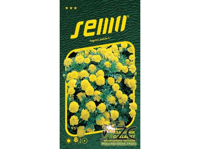 40466 1 aksamitnik rozkladity lemon drop 1g