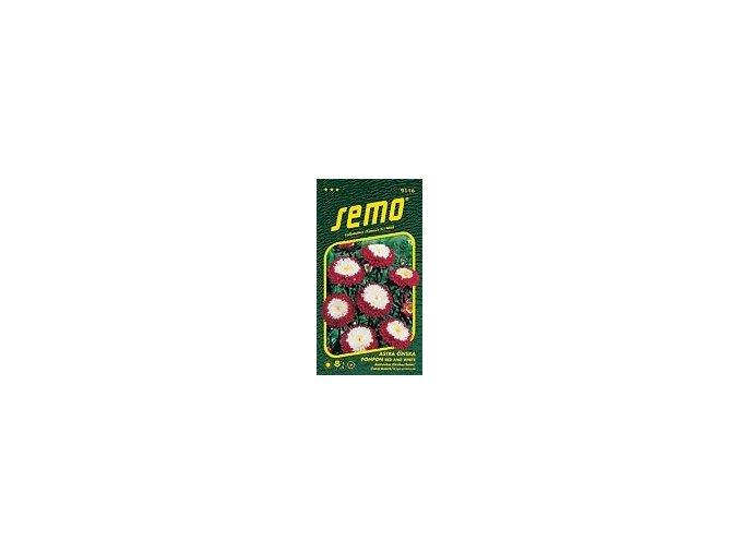 40649 astra cinska pompon red and white 0 5g