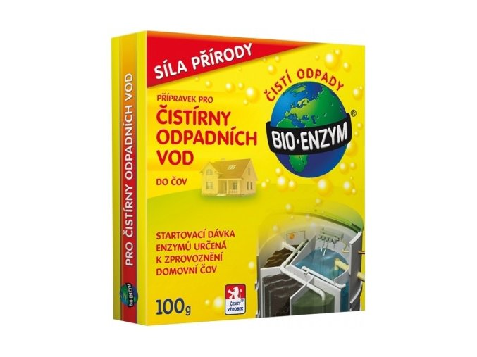 Bio-enzym do ČOV - 100g