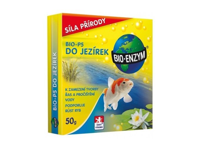 BIO-P5 do jezírek - 50g