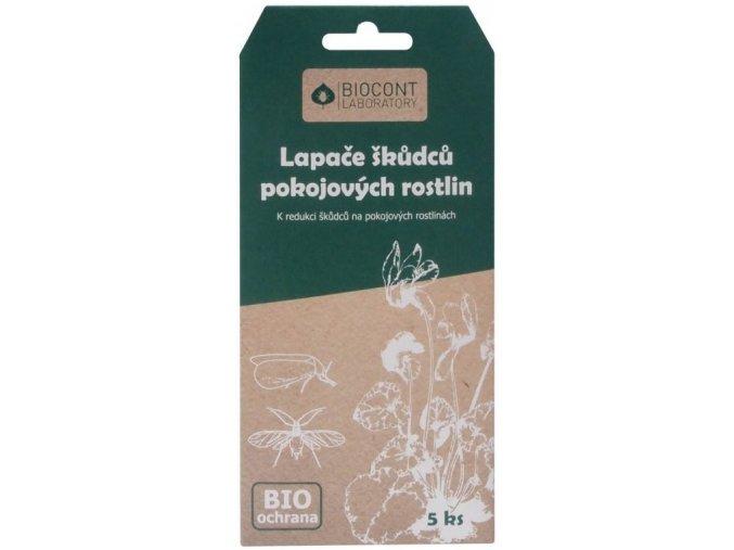Biocont žluté desky proti škůdcům na Pokojové rostliny - 5ks