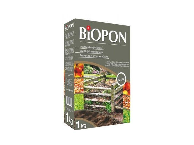 41087 biopon urychlovac kompostu 1kg