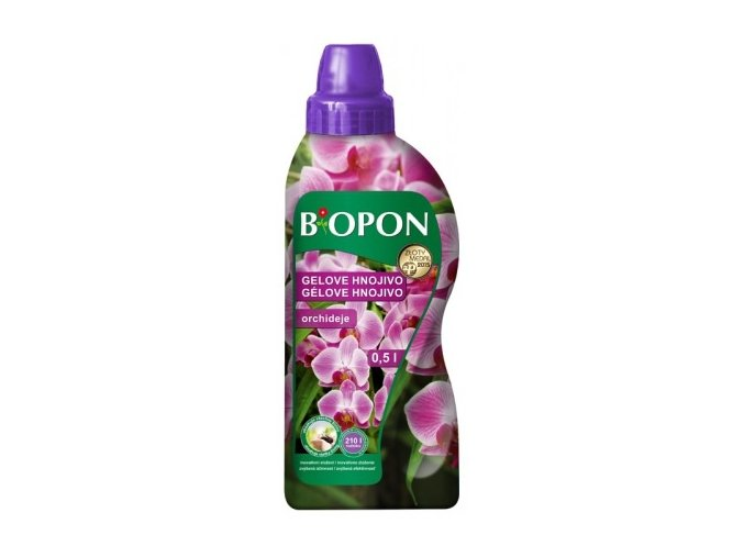 41111 biopon gelove hnojivo na orchideje 500ml