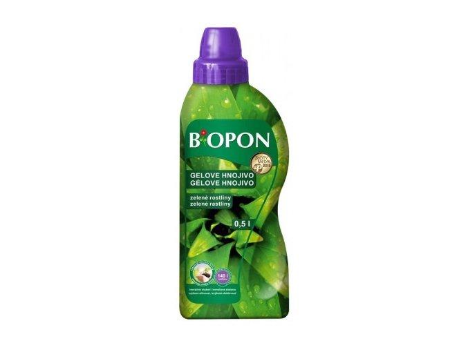 41123 biopon gelove hnojivo na zelene rostliny 500ml