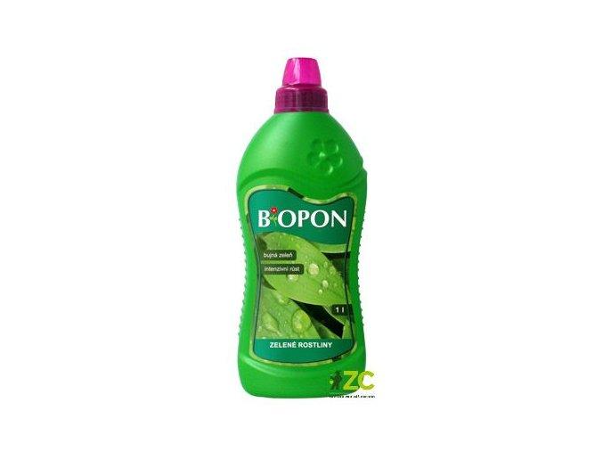 41270 biopon tekuty na zelene rostliny 1l