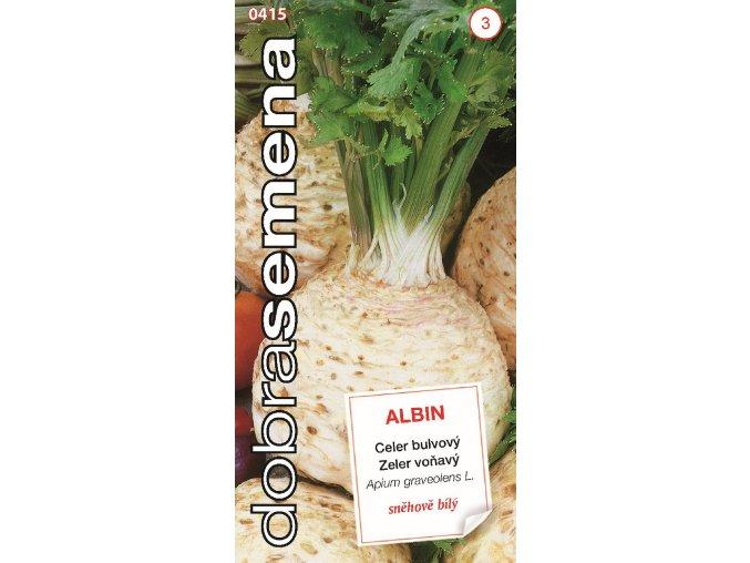 41609 celer bulvovy albin 0 4g dobra semena