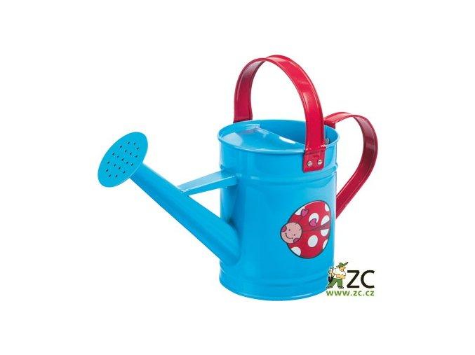 42608 detska konvicka kovova modra stocker