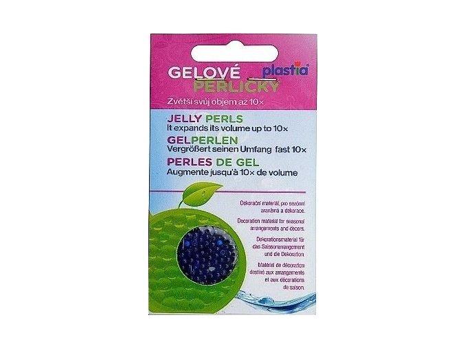 Gelové perličky - modré 30g