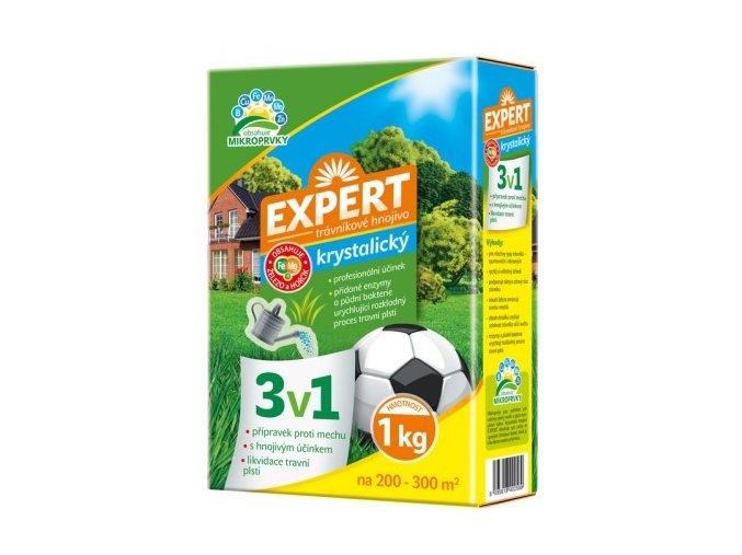 44264 hnojivo expert krystalicke 3v1 na travnik 1kg
