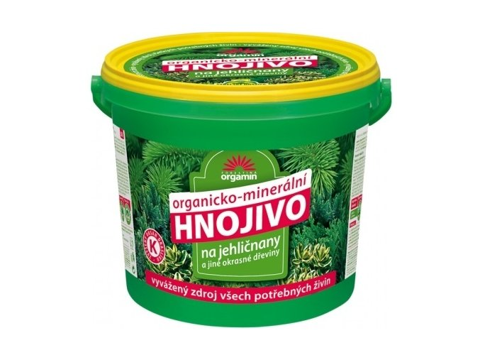 Hnojivo na Jehličnany a Okrasné dřeviny - 5kg