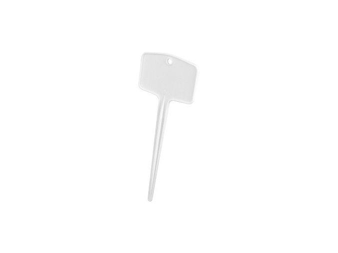 45086 1 jmenovka zapich plantlabels m 18x7cm white 5ks