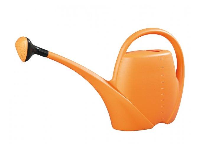 Konev - 10,5l Spring oranžová s kropítkem