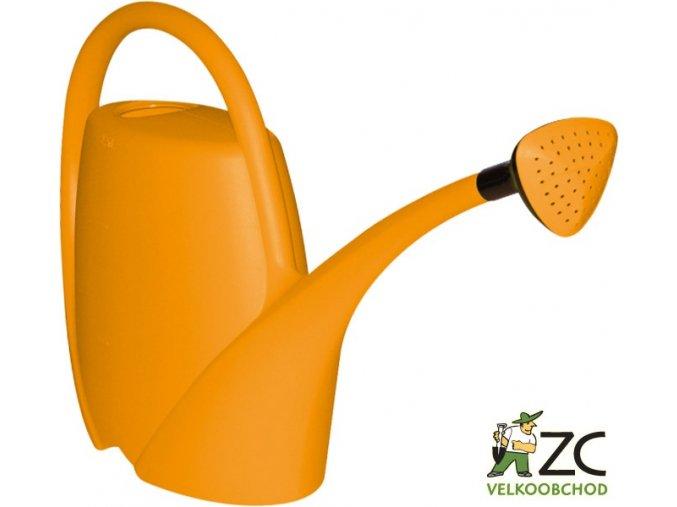 Konev - 2,5l Spring oranžová s kropítkem
