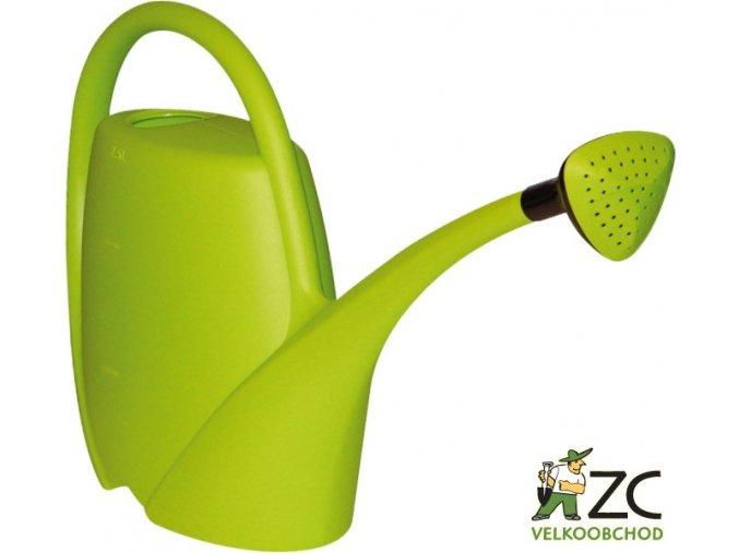 Konev - 2,5l Spring zelená s kropítkem
